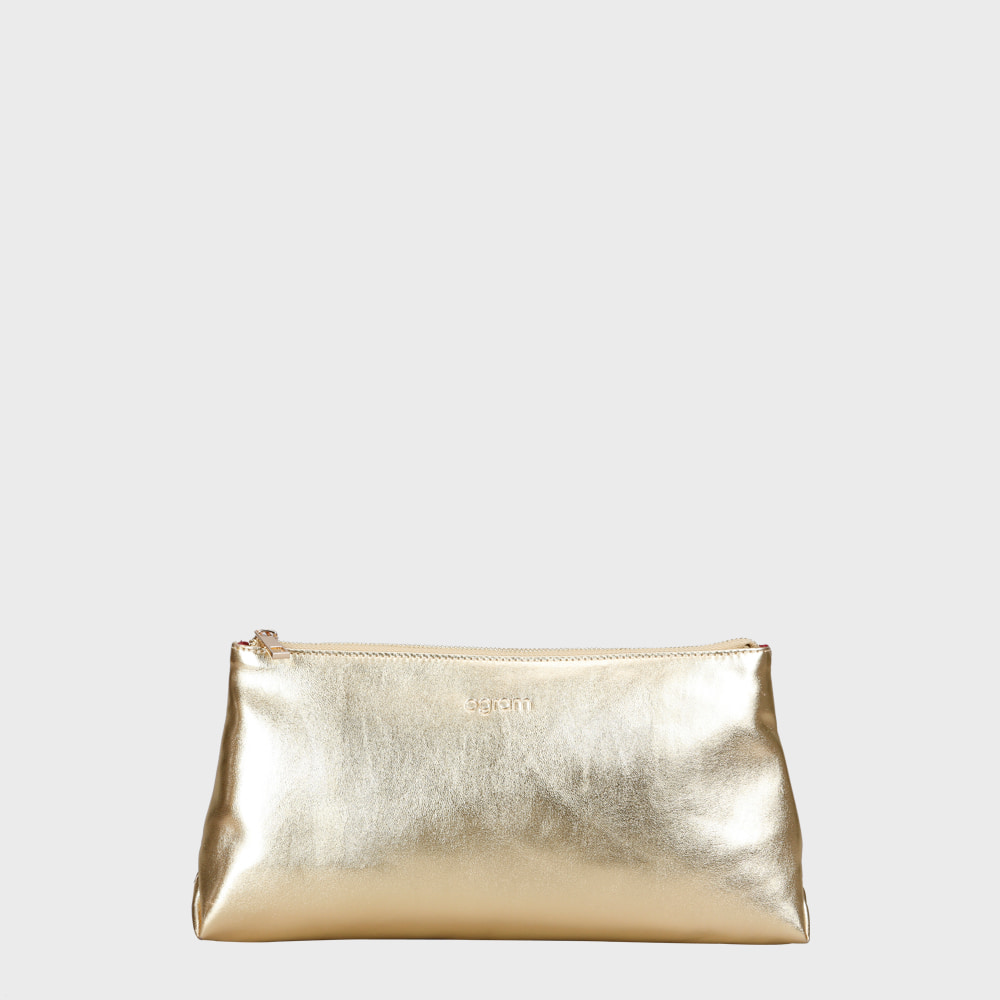 Ogram Mue clutch gold