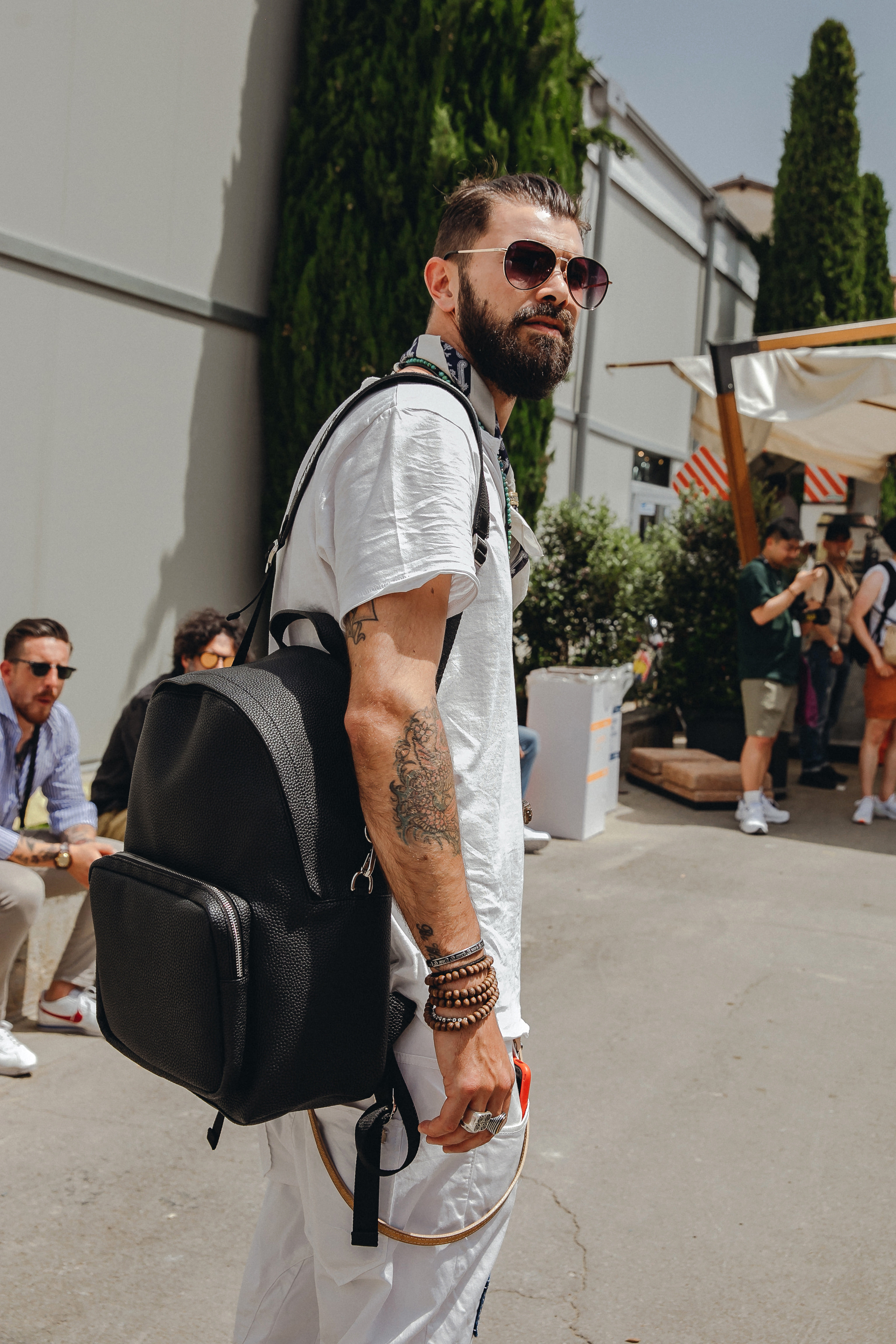 2019 Milano Pitti Uomo_WHEELS&CONTAINER BACKPACK BLACK